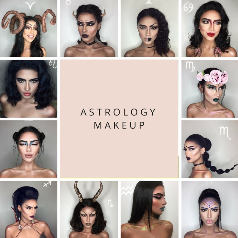 Makeup based on your zodiac sign