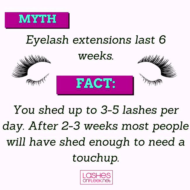 myths about eyelash exxtentions - The Most Common Misconceptions about Eyelash Extensions